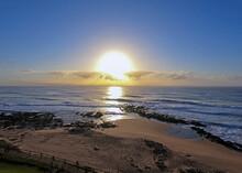 Sunrise  Over Ballito Beach Wi...