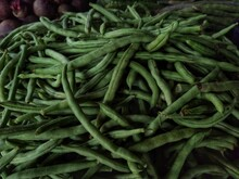 Green Beans In The Market