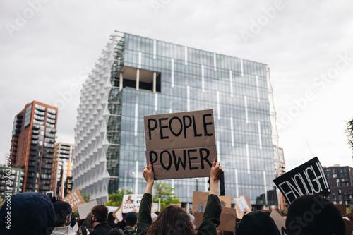 Obraz na plátne Black Lives Matter protest
