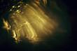 Leinwandbild Motiv abstract image of lens flare. light leaks