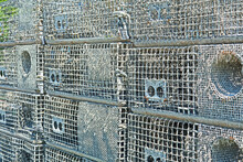 A Stack Of Lobster Traps, Also...
