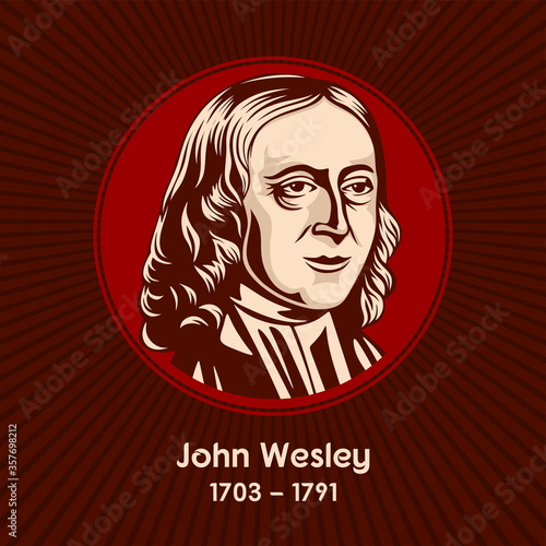 Fotomural John Wesley (1703-1791) was an English cleric, theologian and evangelist who was a leader of a revival movement within the Church of England known as Methodism