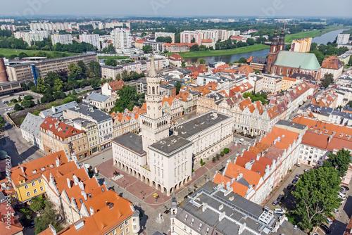 Fototapeta Ratusz w Opolu, Polska obraz