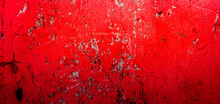 Cracked And Peeling Red Oxidiz...