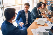 Business Lawyers Workers Meeti...