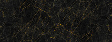 Black And Golden Marble Stone ...