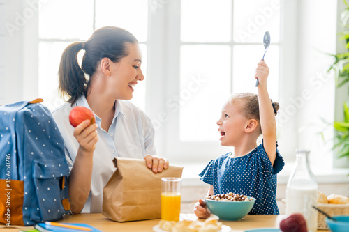 Fotomural Healthy food at home.