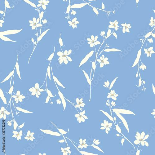 Tapeta niebieska  i-designed-a-flower-these-designs-continue-seamlessly