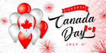 Happy Canada Day Greeting Bann...