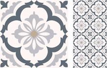Seamless  Azulejo Tile. Portug...