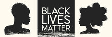 Black Lives Matter. Young Afri...