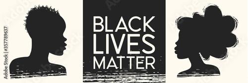 Black Lives Matter Fototapeta