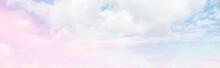Clouds Watercolor Tint, Pink C...