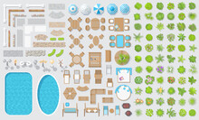 Vector Set For Landscape Desig...