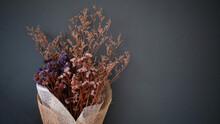 Close Up Of Beautiful Dried Fl...