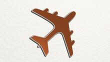 AIR PLANE Made By 3D Illustrat...