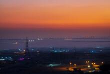 Beautiful Sunrise Foggy View O...