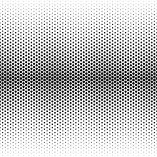 Seamless Monochrome Halftone P...