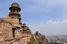 Man Singh Palace In Gwalior Fort