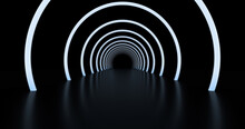 Abstract Background, Tunnel Of...