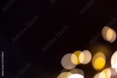 Fototapeta circle, illuminated, background, backdrop, gold and black, Christmas background, New Year party, Helloween backdrop, overlay, photoshop overlay, postcard, wallpaper obraz
