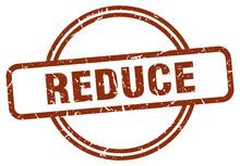 Reduce Grunge Stamp. Reduce Ro...