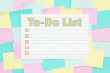 To-Do List Type With Checkboxe...