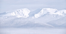 Snow Covered White Mountains I...