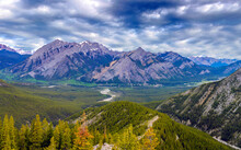 Rocky Mountain Landscape With ...