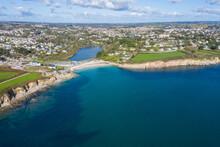 Falmouth From The Air, Cornwal...