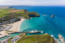 Portreath, Cornwall From The Air