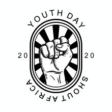 Vintage Logo Of Youth Day Sout...