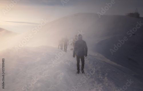 Valokuvatapetti zima w Polskich Tatrach