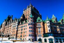 Fairmont Le Chateau Frontenac, Quebec, Canada
