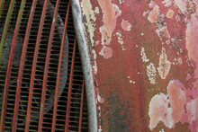 Detail Of A Weathered Historic...