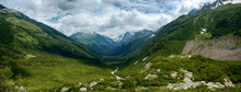 View Of The Valley In The Moun...