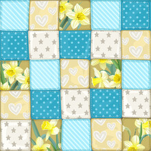 Seamless Pattern From Scrappy ...