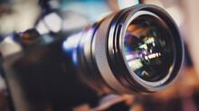 Close Up On Media DSLR Cameras...