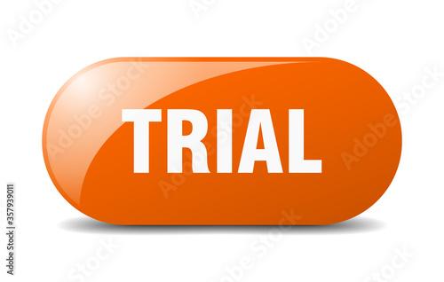 Fotografija trial button. trial sign. key. push button.