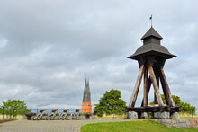 In 1588 Queen Gunilla Donated Gunilla Bell To Castle Chapel. In 1702 Bell Tower Was Destroyed By Fire. Gunilla Bell Was Recast In 1759 And Moved To Wooden Bell Tower On Styrbiskop Bastion