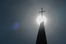 The Cross On The Spire Of The ...