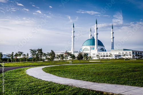 Sultan Iskandar Mosque Wallpaper Mural