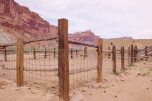 A Corral For Livestock In The ...