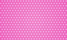 Dots Background, Pop Art Illustration, Comic Style Pink, Baby