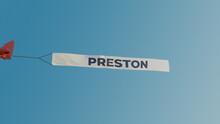 Preston Plane Banner Message U...