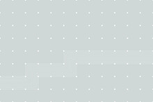 Modern Line With Dots Pattern,...