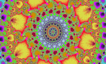 Mandelbrot Fractal, Circular M...