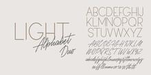 Script And Sans Light Duo Font...