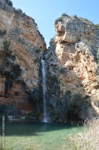 Cueva Del Turche cave located in Bunol, Valencia, Spain
