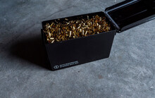 Black Ammo Box Full Of Cases